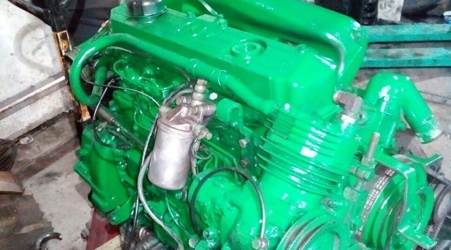 Капитальный ремонт двигателя Мерседес 814 ом366