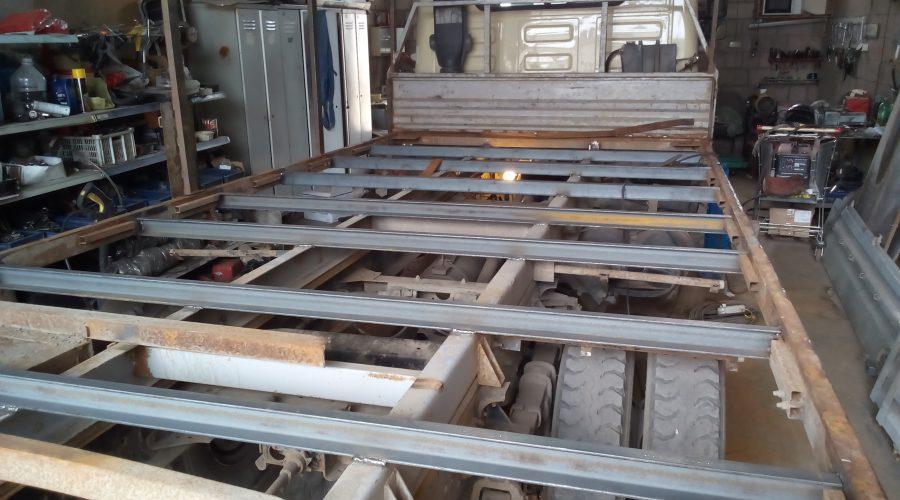 Ремонт фургонов и бортовых платформ