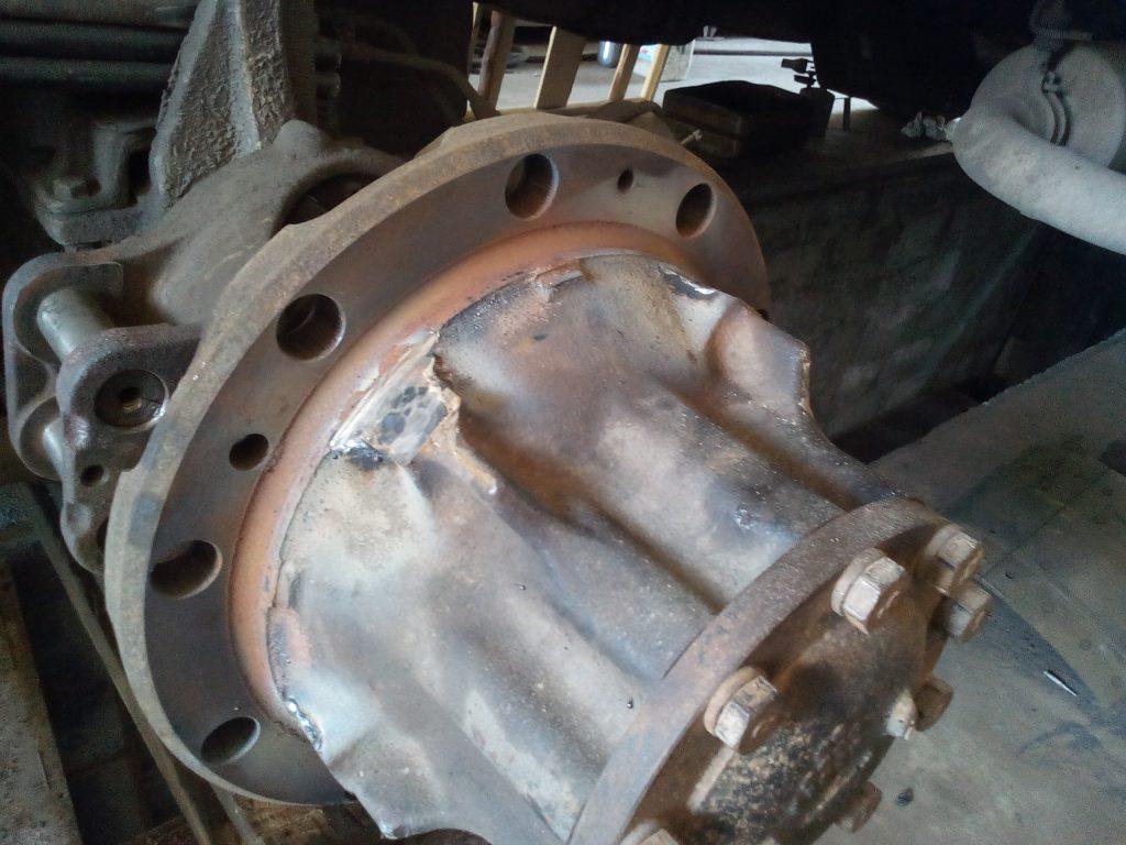 Восстановление ступицы, ремонт ступицы грузового автомобиля