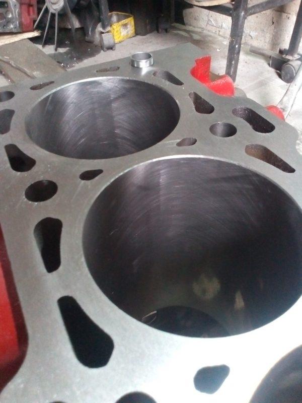 Расточка блока двигателя isf 2.8